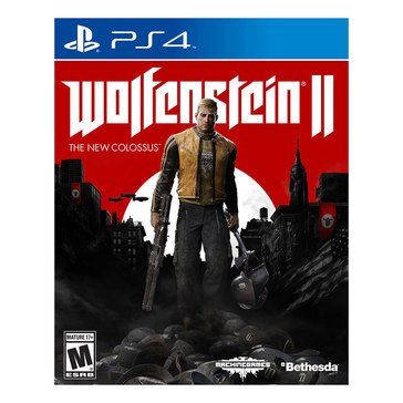 PS4 Wolfenstein 2: The New Collossus