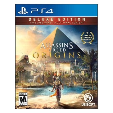 PS4  Assassins Creed: Origins Deluxe