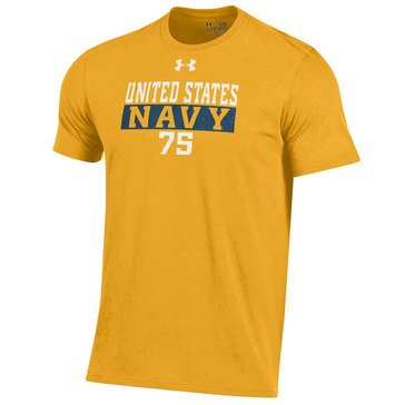 Under Armour Men's U.S.N 75 Charged Cotton Short Sleeve Tee