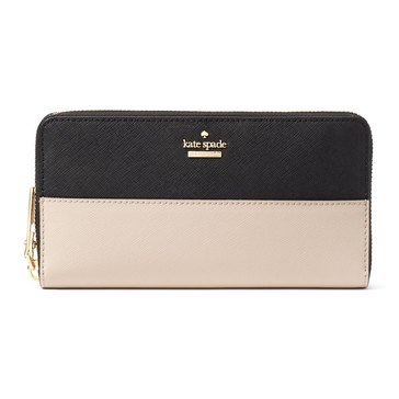 Web Exclusive! Kate Spade Cameron Street Lacey Wallet Tusk/Black