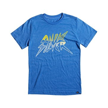 Quiksilver Big Boys' Banana Shape Tee, Blue