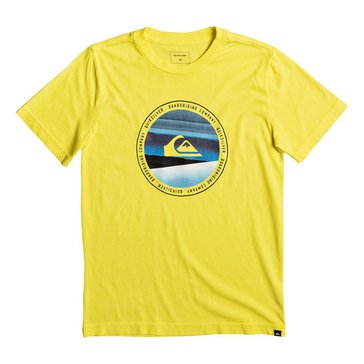 Quiksilver Big Boys' Last Tree Tee, Yellow