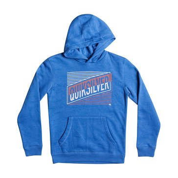 Quiksilver Big Boys' Port Roca Pullover Hoodie, Blue