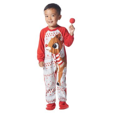 Briefly Stated Rudolph Family PJs Toddler Set
