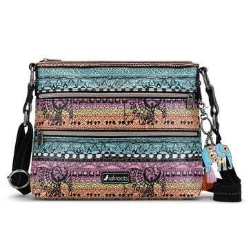 Sakroots Basic Crossbody Sherbet One World