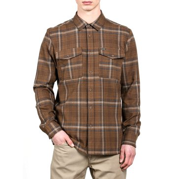 Volcom Men's Bodhi Long Sleeve Flannel Shirt