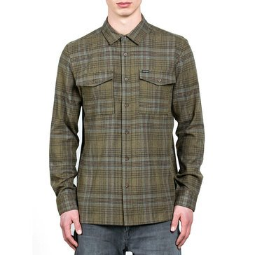 Volcom Men's Bohi Long Sleeve Flannel Shirt