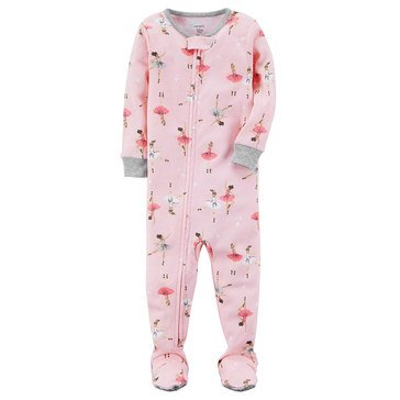 Carter's Baby Girls' Cotton Pajamas, Ballerina