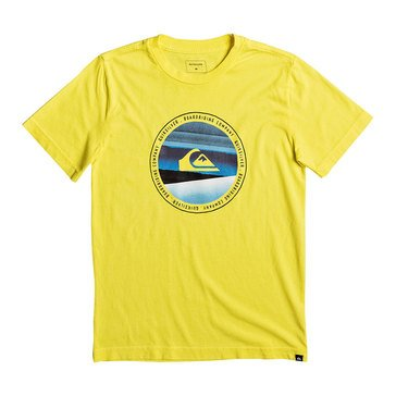 Quiksilver Little Boys' Last Tree Tee, Yellow