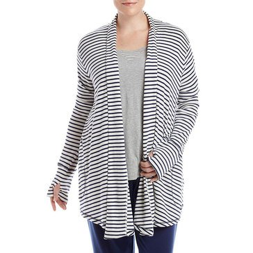 Tommy Hilfiger Women's Plus Lounge Cardigan