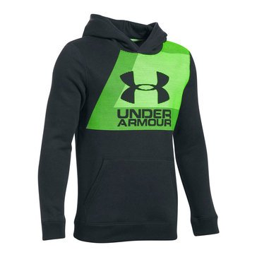 Under Armour Big Boys' Sport Style Hoodie, Black