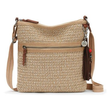 The Sak Lucia Crochet Crossbody Bamboo Static