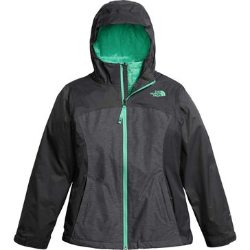 The North Face Big Girls' Osolita Triclimate Jacket, Graphite Grey
