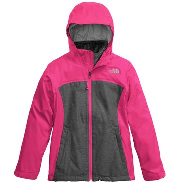The North Face Big Girls' Osolita Triclimate Jacket, Petticoat Pink