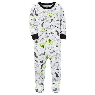 Carter's Baby Boys' Cotton Pajamas, Dino