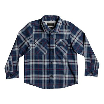 Quiksilver Little Boys' Flannel, Dark Blue