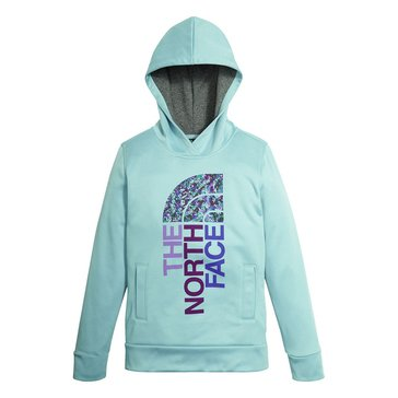 The North Face Big Girls' Surgent Pullover Hoodie, Blue