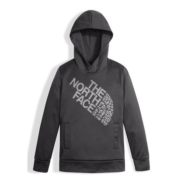 The North Face Big Girls' Surgent Pullover Hoodie, Graphite Grey