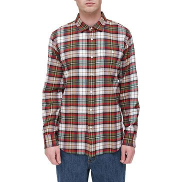 Obey Men's Woven Lauder Flannel Plaid Shirt