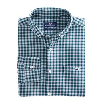 Vineyard Vines Cliff Gingham Classic Tucker Shirt