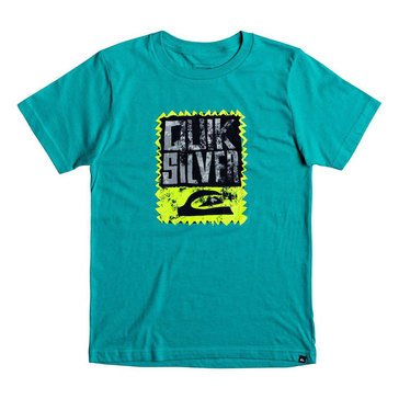 Quiksilver Big Boys' Awaken The Vibes Tee, Bright Blue