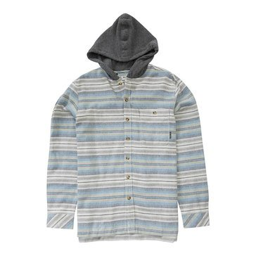 Billabong Little Boys' Baja Hooded Flannel Shirt