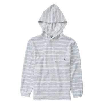 Billabong Little Boys' Flecker Pullover Hoodie, Grey