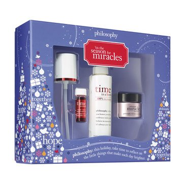 Time In A Bottle 3-Piece Holiday Skincare Set