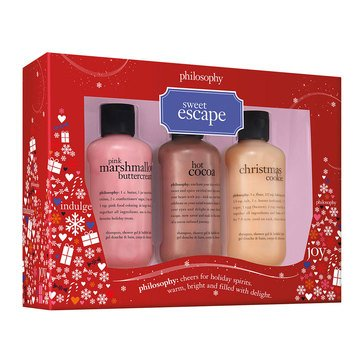Philosophy Bath and Body 3-Piece Holiday Shower Gel Set