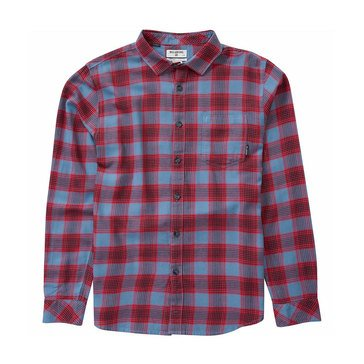 Billabong Big Boys' Freemont Flannel, Navy
