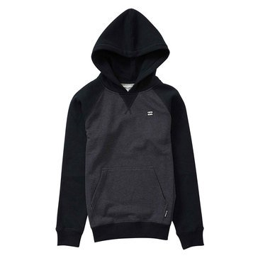 Billabong Big Boys' Balance Pull Over Fleece, Black