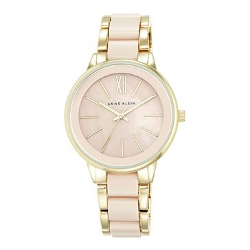 Anne Klein Women's Pink Bracelet Watch, 37