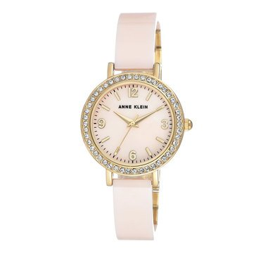 Anne Klein Women's Pink Ceramic Watch, 32mm