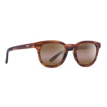 Maui Jim Unisex Koko Head Polarized Sunglasses Matte Tortoise/Bronze 48mm