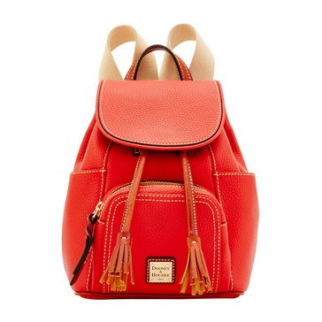 Dooney & Bourke Pebble Small Backpack Salmon