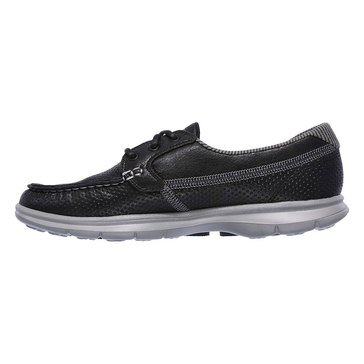 Skechers Go Step Shore Escape Women's Boat Sneaker Black