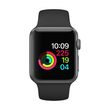 Apple Watch Series 1 Aluminum Case with Sport Band AppleCare+ Bundle