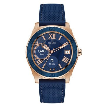 Guess Unisex Connect Blue Smartwatch, 44mm