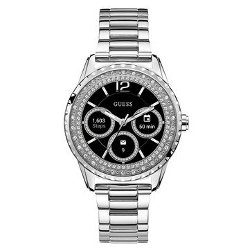 Guess Women's Connect Silver Smartwatch, 42mm