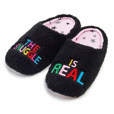 PJ Couture Teddy Vebiage Slipper Snuggle