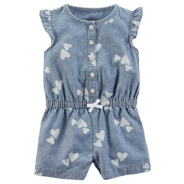 Carter's Baby Girls' Heart Romper