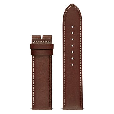 Guess Connect Smart Watch Strap, Brown Leather