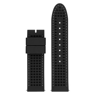 Guess Connect Smart Watch Strap, Textured Black