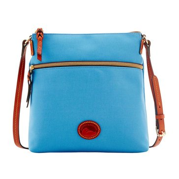 Dooney & Bourke Nylon Large Crossbody Dusty Blue