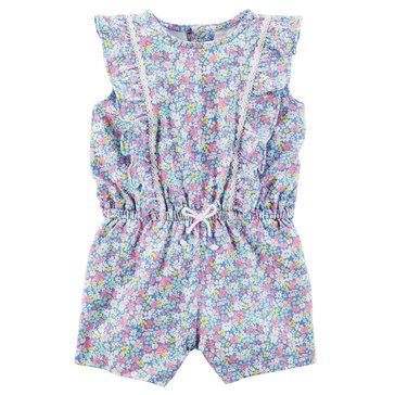 Carter's Baby Girls' Floral Romper