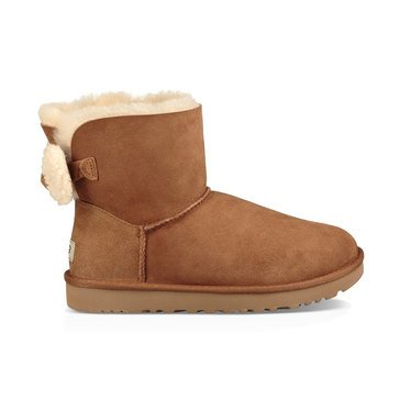 Ugg Arielle Back Bow Short Boot Chestnut