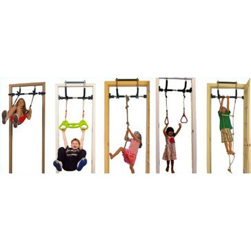 Gorilla Gym Deluxe Indoor Playground, 6-Piece Set