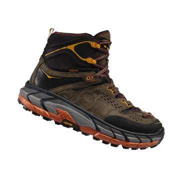 Hoka One One Men's Tor Ultra Hi Waterproof Trail Bootblack/Olive