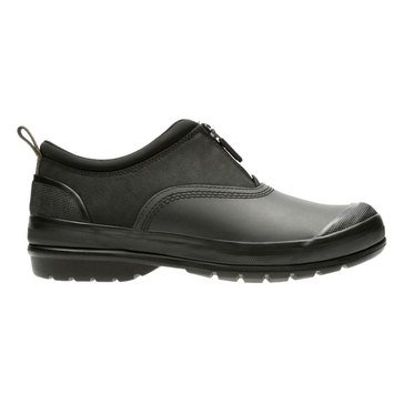 Clarks Muckers Waterproof Bootie - Black Nuback