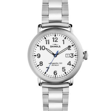 Shinola Unisex Runwell Stainless Steel Watch, 41mm